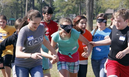 youth group games lesson